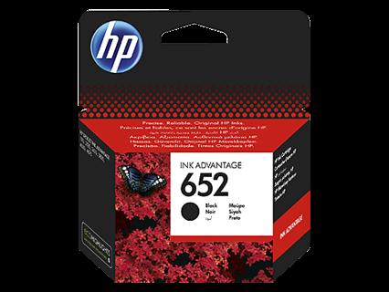 Oryginalny tusz HP 652 F6V25AE czarny do HP Deskjet Ink Advantage 1115 2135 2136 3635 3775 3785 3835 4535 4675 - 6ml