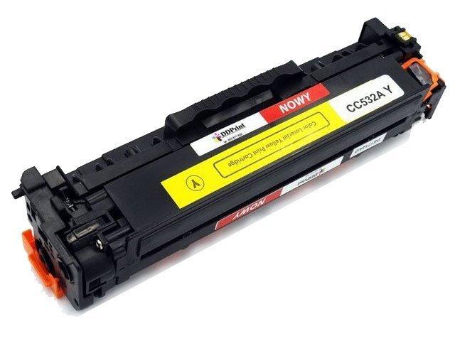 Zgodny z CC532A toner HP CP2025 CM2320 Yellow 2,8K DD-Print DD-H532AYN