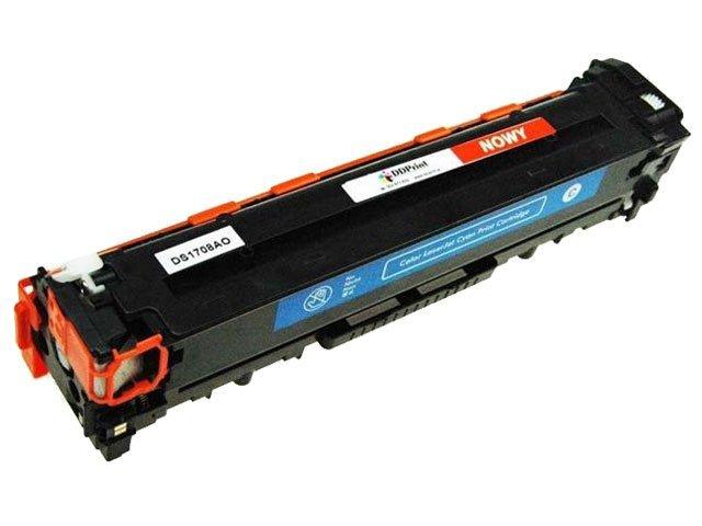 Zgodny z CE321A Toner do HP CP1525 CM1415 CM1410 niebieski 1,3k DD-Print CE321ADNC