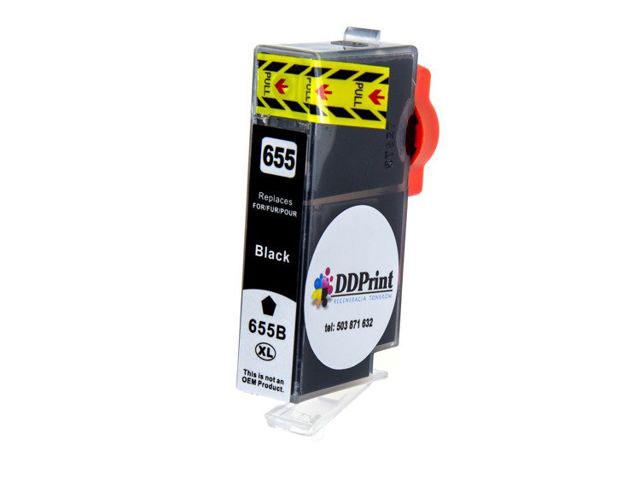 Zgodny z hp 655XL tusz czarny do HP Deskjet Ink 3525 4615 4625 5525 6525 DD-Print