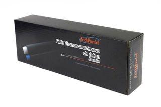 Folia JetWorld Czarny Panasonic KX-FA136 (2 szt.) zamiennik KXFA136A