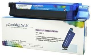 Toner Cartridge Web Cyan OKI C3100/C5100/C5450 zamiennik 42804515/42127407/42127456