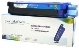 Toner Cartridge Web Cyan OKI C8600/C8800 zamiennik 43487711
