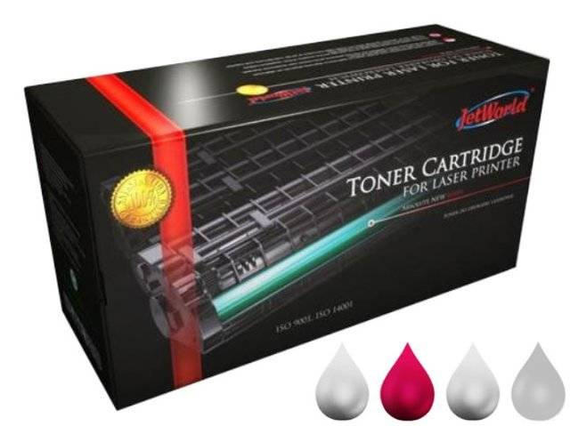 Toner JetWorld JW-H383AMR zamiennik 824A CB383A do HP Color LaserJet 21k Magenta