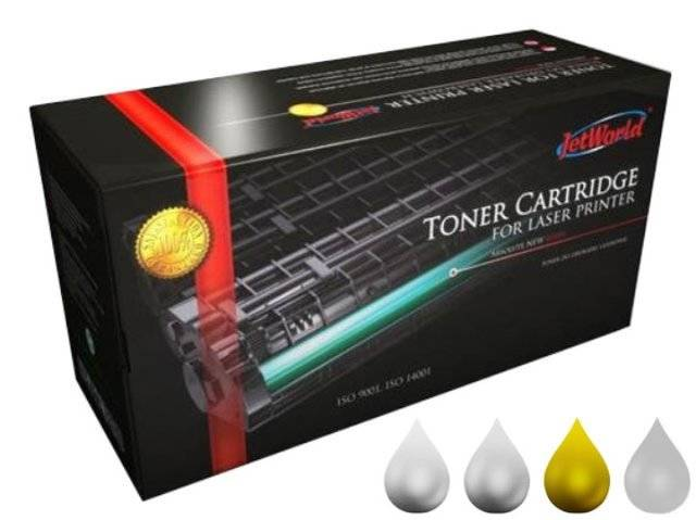 Toner JetWorld JW-H8552AYR zamiennik HP822A C8552A do HP Color LaserJet 25k Yellow