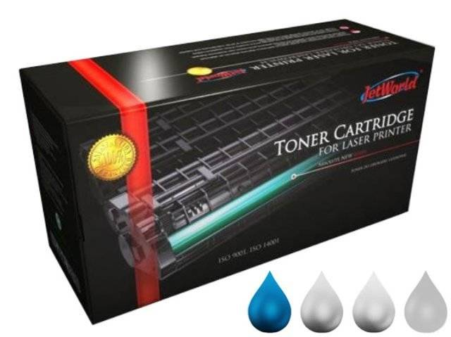 Toner JetWorld JW-H9731ACR zamiennik HP645A C9731A do HP Color LaserJet 12k Cyan