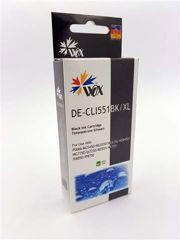 Tusz Wox Black CANON CLI 551BK z chipem zamiennik CLI551BK