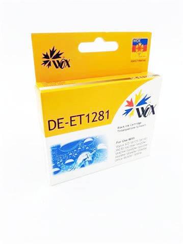 Tusz Wox Black EPSON T1281 zamiennik C13T12814010