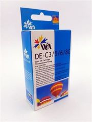 Tusz Wox Cyan Canon BCI3EC / BCI6EC zamiennik 4480A002