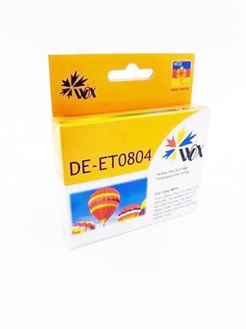 Tusz Wox Yellow EPSON T0804 zamiennik C13T08044010