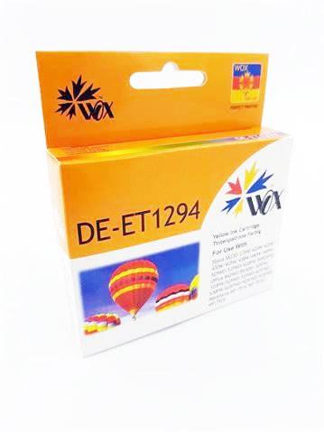Tusz Wox Yellow EPSON T1294 zamiennik C13T12944010