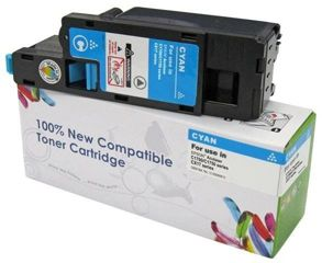 Zgodny Toner Cyan EPSON C1700 C1750 CX17 / C13S050613 / 1400 stron / zamiennik