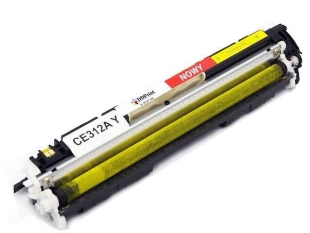 Zgodny z CE312A Toner do HP CP1025 M175 M275 Yellow 1,2K DD-Print DD-H312AYN